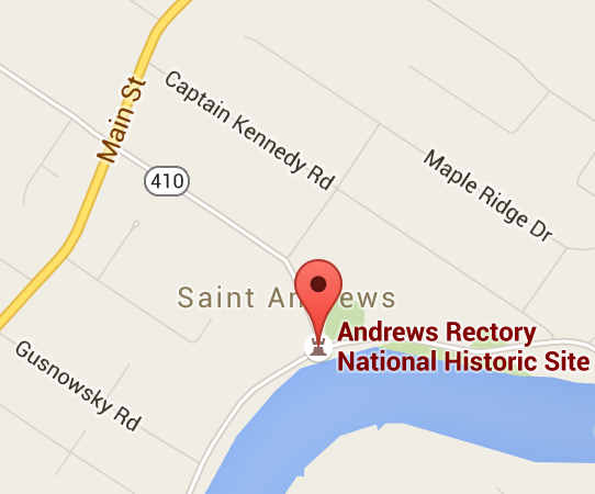 St. Andrews Rectory, 374 River Rd, St. Andrews, MB, Canada